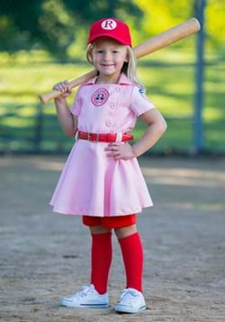 League of Their Own Toddler Girl Dottie Luxury Costume
