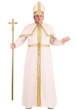 Plus Size Men's Pious Pope Costume