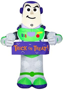 Toy Story Inflatable Buzz Lightyear with Banner