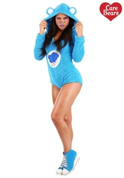 Women's Grumpy Bear Romper Costume