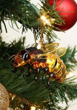 Noble Gems Glass Ornament Honey Bee-update