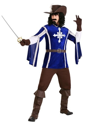 Men's Mighty Musketeer Costume