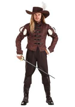 Men's Suave Swordsman Costume Main