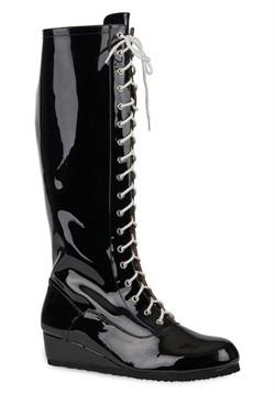 Men's Black Wrestling Boot