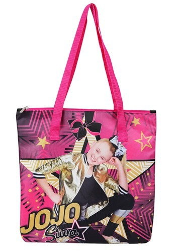 "Jojo Siwa Girls 15"" Zip Tote Bag"