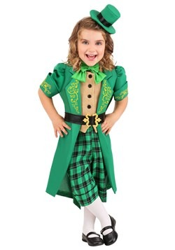 Toddler's Charming Leprechaun Costume
