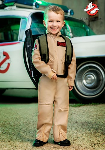Ghostbusters Toddler Deluxe Costume