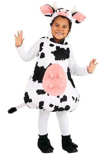 Toddler Bubble Cow Costume