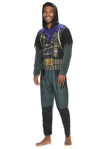 Fortnite Adult Raven Union Suit