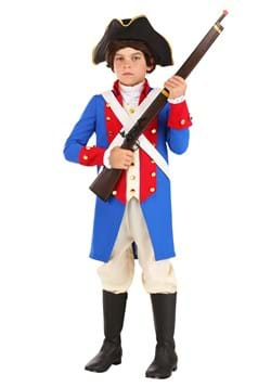 Kid's American Revolution Soldier Costume