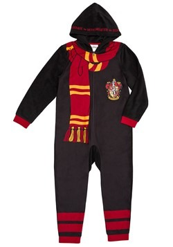 Harry Potter Child Hooded Union Suit