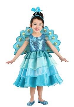 Toddler's Pretty Peacock Costume Main