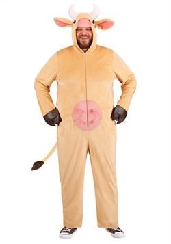 Plus Size Brown Cow Costume