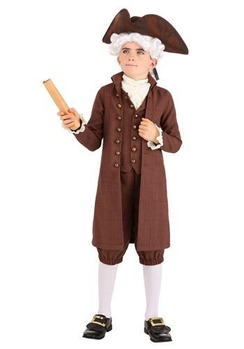 Kid's John Adams Costume
