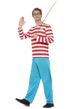 Where's Wally? Adult Wally Costume