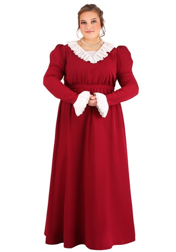 Plus Size Women's Abigail Adams Costume