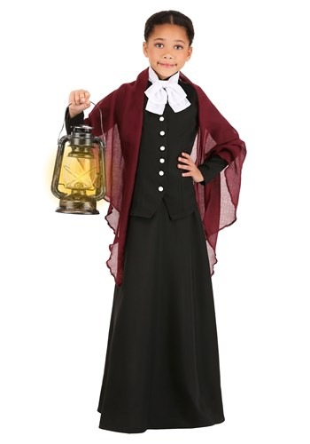 Kid's Harriet Tubman Costume1