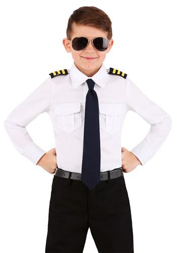 Kid's Pilot Shirt Costume