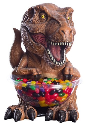 Jurassic World T-Rex Candy Bowl