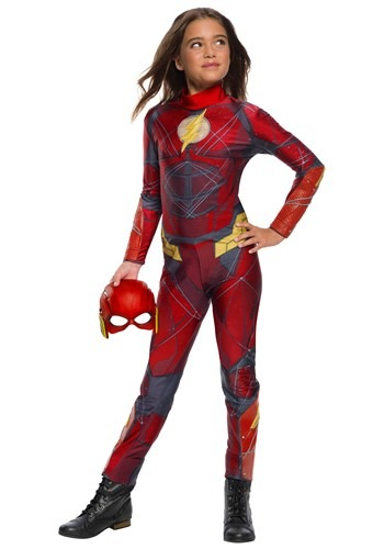 Justice League Girls Flash Costume