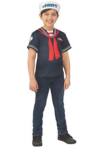 Stranger Things Steve's Scoops Ahoy Uniform Kids Costume