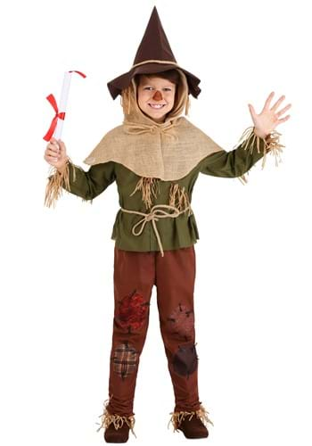 Kid's Wizard of Oz Scarecrow Costume 1