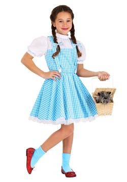 Kid's Classic Dorothy Wizard of Oz Costume1