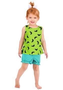 Toddler's Classic Flintstones Pebbles Costume1