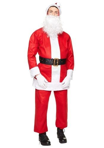 Men's Basic Santa Suit Costume