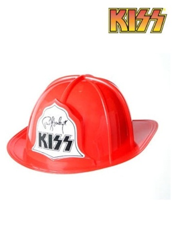 Adult Plastic KISS Fire Hat