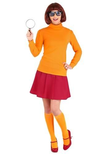 Plus Size Classic Scooby Doo Velma Costume