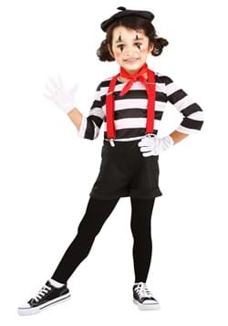 Toddler Mime Costume update