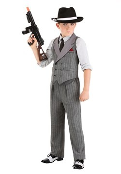 Kid's Ruthless Gangster Costume