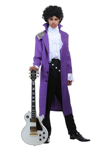 Purple Rock Legend Plus Size Costume1