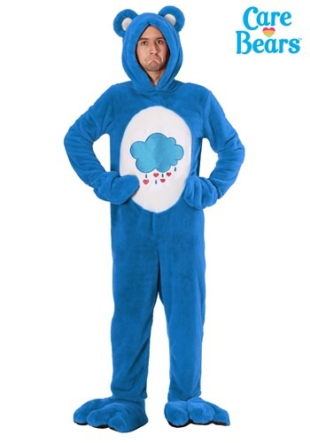Plus Size Care Bears Deluxe Grumpy Bear Costume1