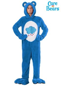 Plus Size Care Bears Deluxe Grumpy Bear Costume1