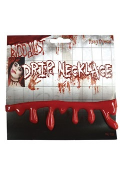 Blood Drip Necklace