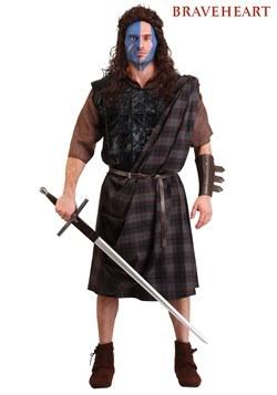 Men's Plus Size Braveheart Classic Costume