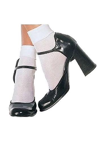 White Dorothy Socks