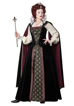 Women's Elizabethan Queen Costume