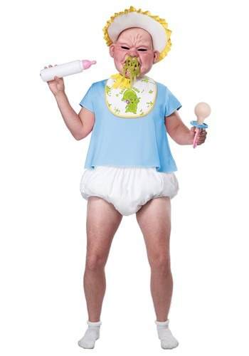 Adult Big Booger Baby Costume