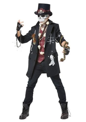 Men's Plus Size Voodoo Dude Costume
