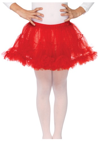Kids Red Petticoat