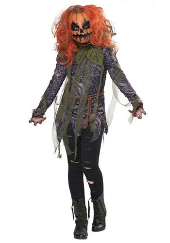 Girl's Pumpkin Monster Costume