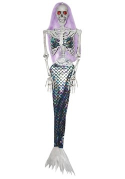 Animated Skeleton Mermaid Decoration