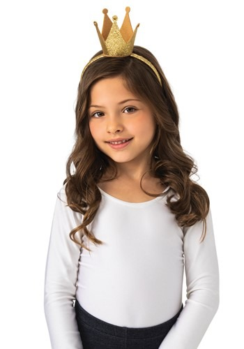 Kids Gold Crown Headband Accessory