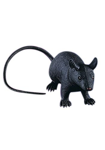 Jumbo Rubber Rat Decoration 23""