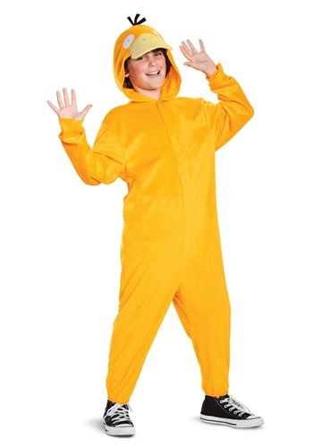 Child Pokemon Deluxe Psyduck Costume