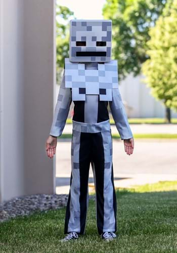 Child Minecraft Classic Skeleton Costume