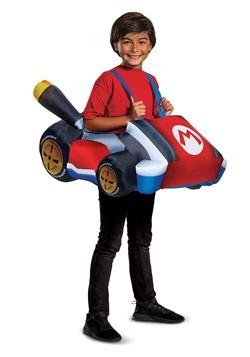 Child Mario Kart Inflatbale Kart Costume